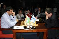 Gelfand y Anand hacen tablas en el Campeonato Mundial de Ajedrez 2007