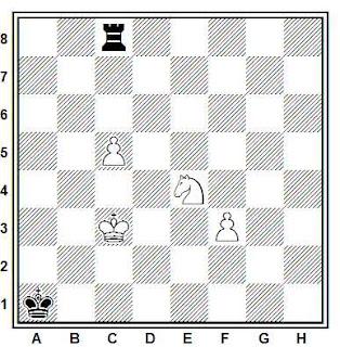 Problema de Fernando Viajes en problemas de ajedrez