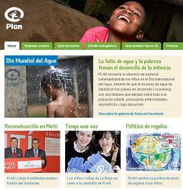 ONG Plan España en el blog de Pepelu