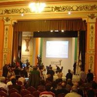 Salón del Club Militar Central donde se disputa el Campeonato del Mundo de Ajedrez 2010