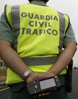 Guardia Civil de Tráfico en multas