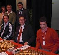 Illescas y San Segundo del CajaCanarias en la final del Campeonato de España de Ajedrez por Equipos 2008