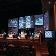 Partidas de ajedrez en el XXVI Torneo Intercontinental Ciudad de Linares