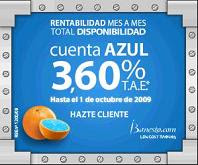 Cuenta Azul del iBanesto