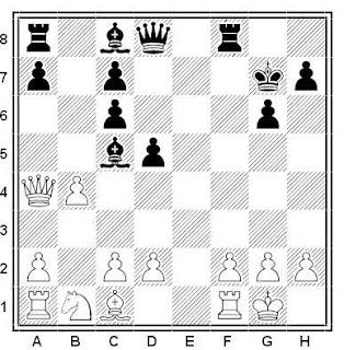 Problema ejercicio de ajedrez número 530: Moreno - Cuevas (Correspondencia, 1981)