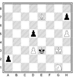 Problema ejercicio de ajedrez número 541: Estudio de los hermanos V. y M. Platov (1909)