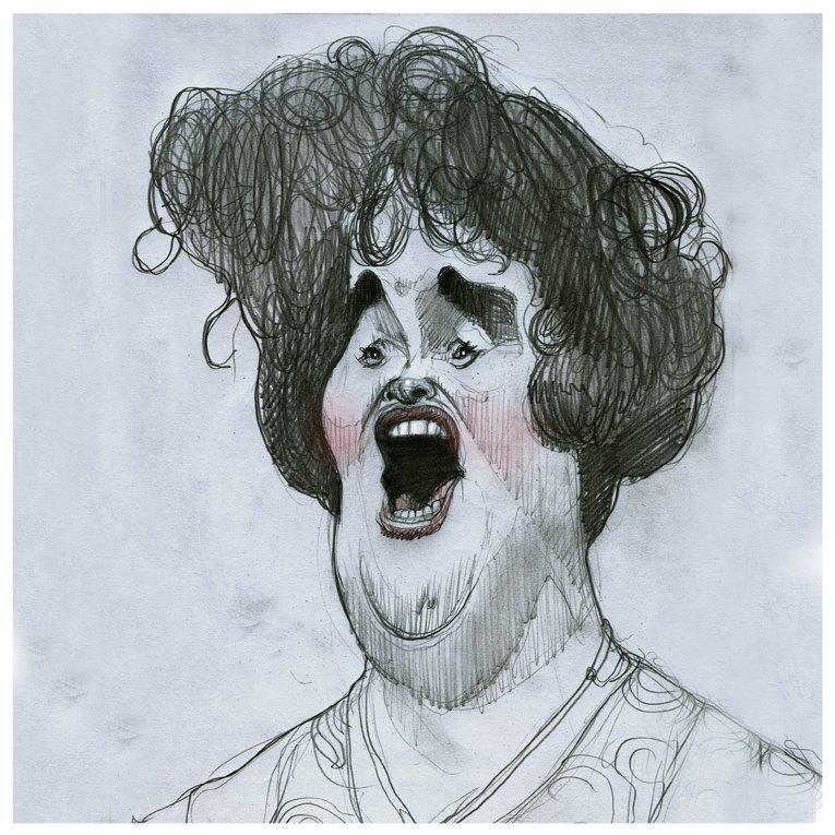 Caricaturas de famosos por dibujantes argentinos