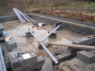 Notre maison bernard lannoy vide sanitaire les tuyaux - Evacuation eaux usees maison ...