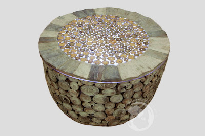 Treecycled Furniture: Strippenteak, Driftwood, Salvaged and Reclaimed wood of Eco Friendly Furniture and Furnishings Manufacturer in Indonesia since 1996 :  branch coffee table coffee table with leds light sustainable furniture
