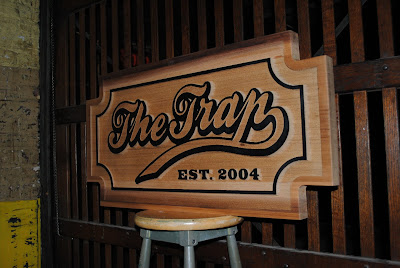 Custom Wood Sandblasted Sign - The Sign Depot