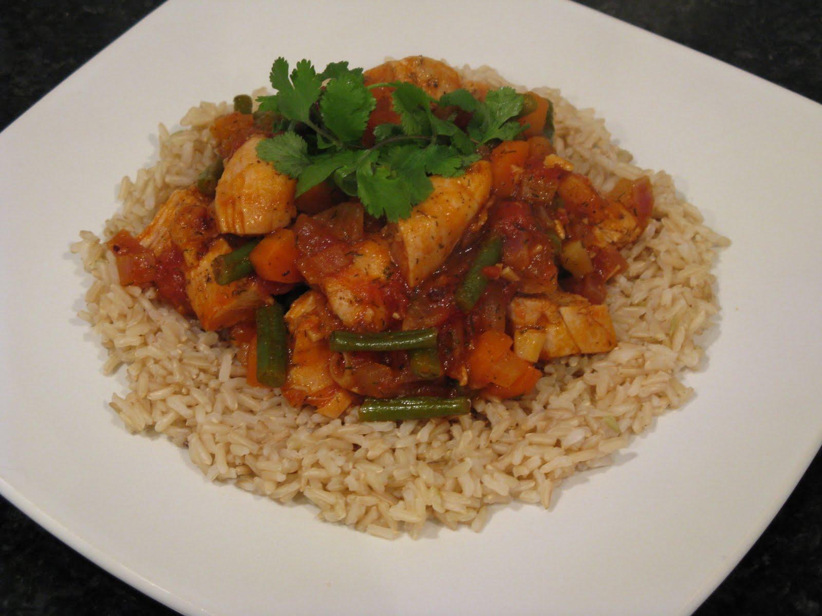 Chef Mel's Kitchen: Recipe: Quick Chicken and Vegetable Stew