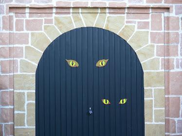 Habillage d'une Porte de Garage en Pierre