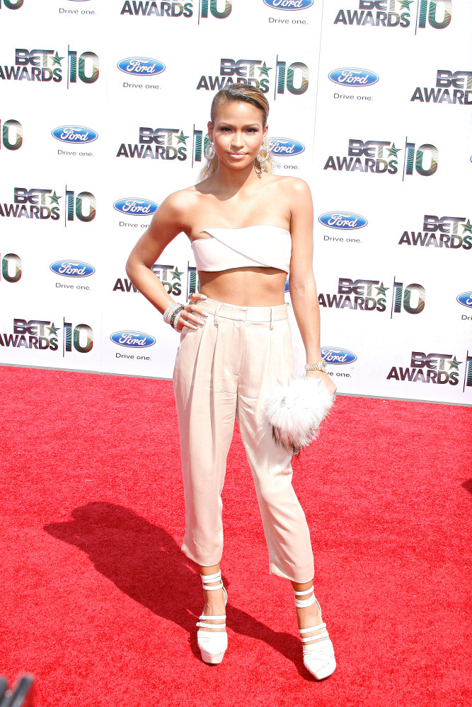 "Cassie Ventura. ""Cassie gave a interesting look, but I like it except for"