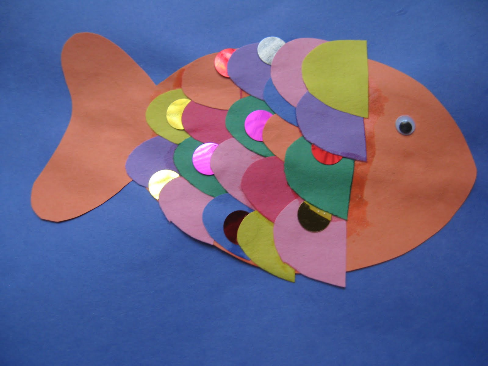Little gene green bean exploring the ocean unit 1 for Rainbow fish pictures