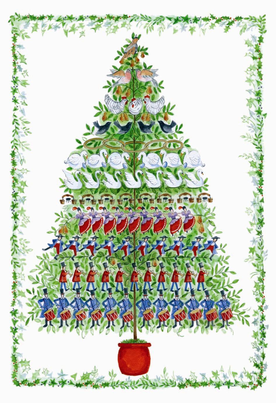 free 12 days of christmas lapbook - 12 Days Of Christmas Christian Version