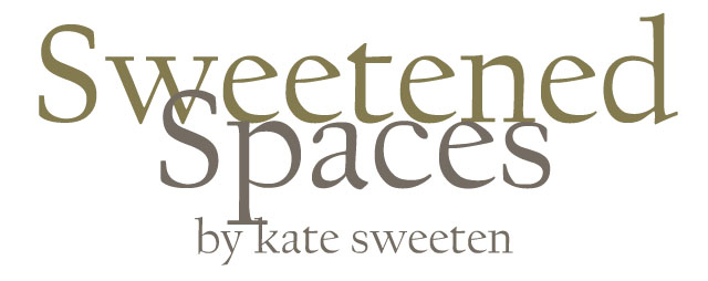 Sweetened Spaces