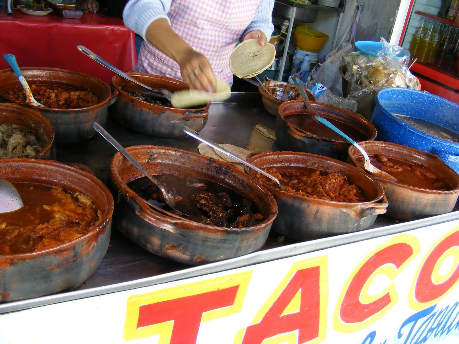 Street Gourmet LA: Tacos de Guisado La Tapatia,Mexico City ...