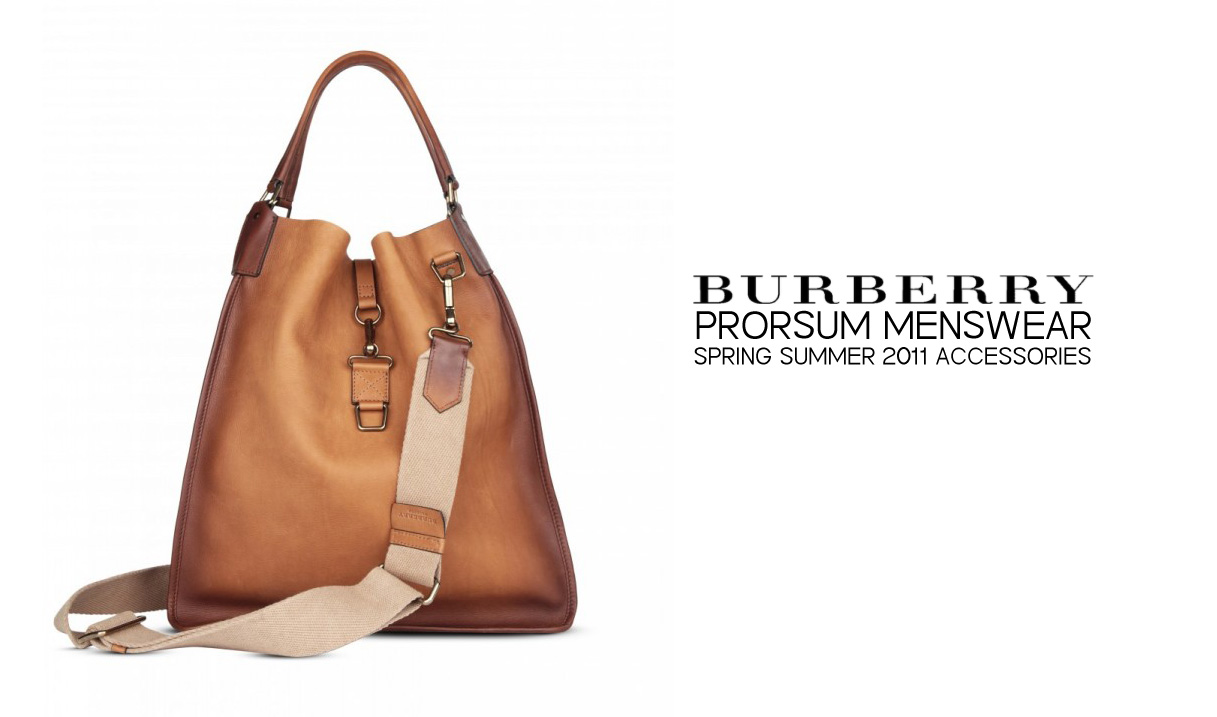 Prorsum burberry accessories spring summer collection images