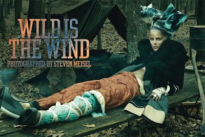 Wild Is The Wind by Steven Meisel - Design Scene