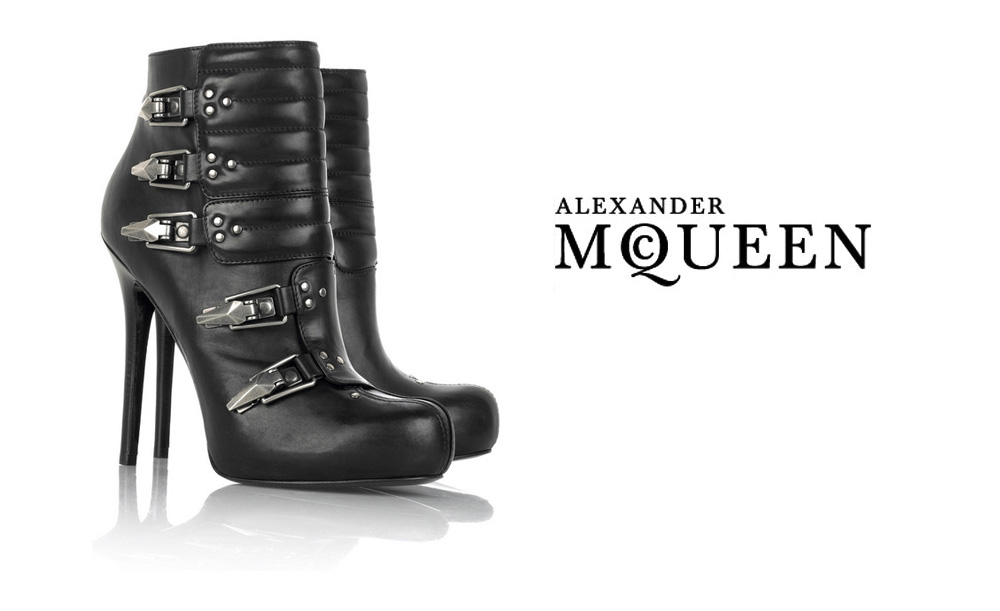 best place for sale original for sale Alexander McQueen buckle ankle boots cheap extremely gh9vR