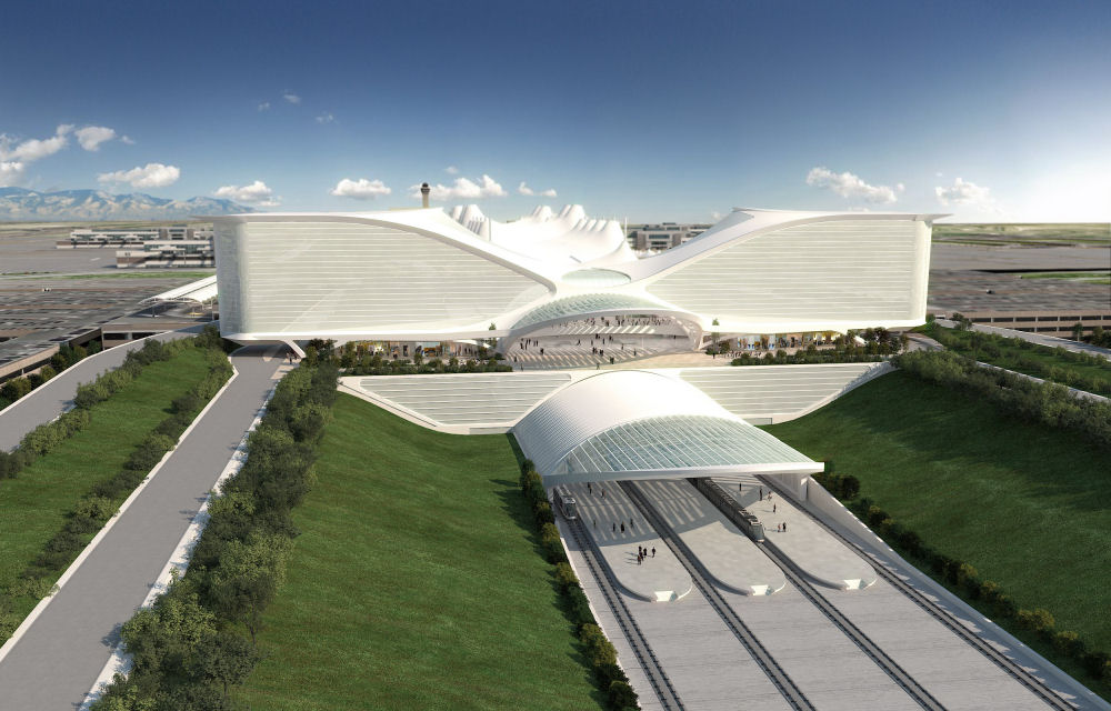 denver international airport by santiago calatrava