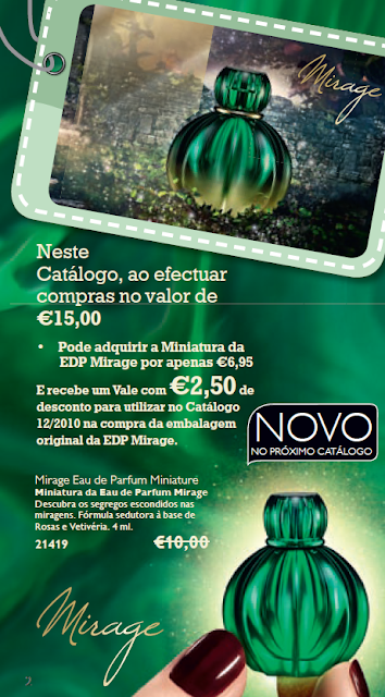 amostras oriflame