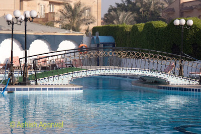 Oasis Hotel in Giza - the swimming pool, very inviting