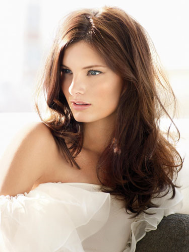 Hair Color Shades,Brown Hair color shades: Auburn hair