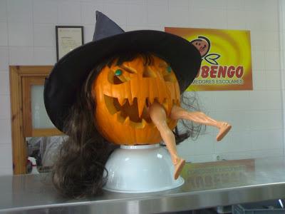 Decoracion frutas calabazas para halloween - Decoracion calabazas halloween ...