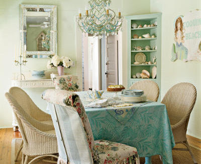 decoracin shabby chic colores muebles