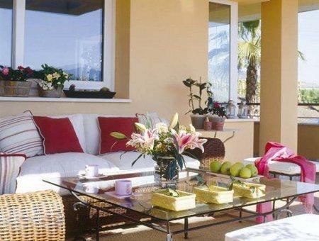 Pintar la terraza o patio pequeño : PintoMiCasa.com