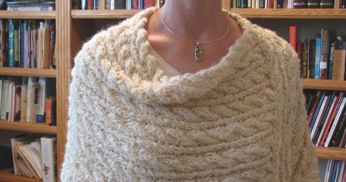 Knitting Yarn Over Continental Style : Yarn over knit together winter solstice wrap