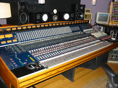 Mixer Board at Smart Studios