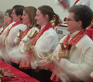 Handbell ringers