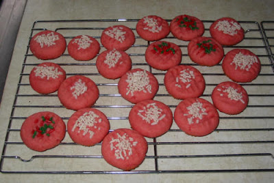 Strawberry Jello Cookies