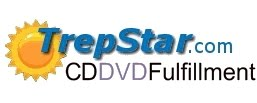 TrepStar CD/DVDs on demand publishing: Self publish on demand, at order time.