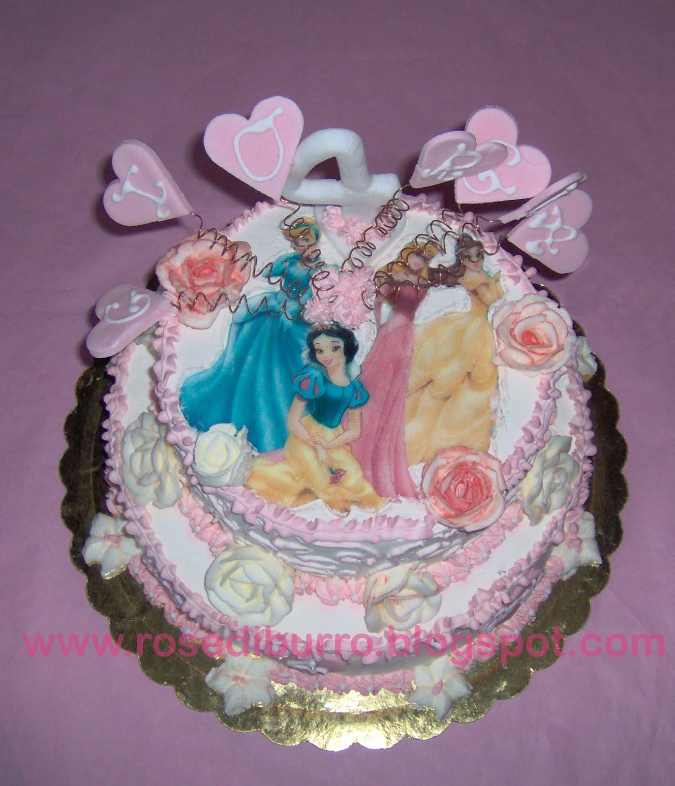 torte di principesse torta principesse : ... una torta di compleanno, ho pensato subito a qualcosa del genere