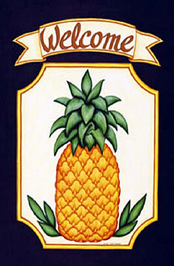 Flavors Of Brazil Pineapple Symbol Of Hospitality