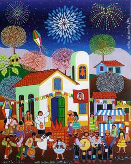Flavors of brazil happy midsummer feliz festa de s o jo o for Mural de natal 4 ano