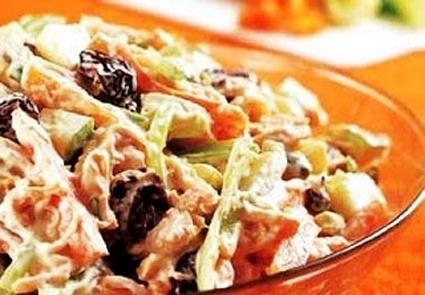 Flavors of Brazil: RECIPE - Brazilian Chicken Salad (Salpicão)