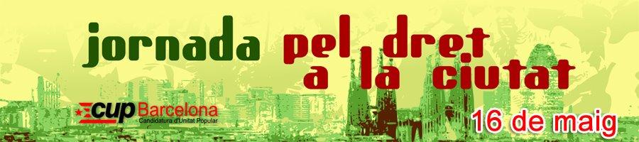 jornades sobre el dret a la ciutat i municipalisme