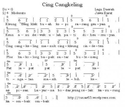 Cing Cangkeling - Lagu Daerah Jawa Barat / Sunda