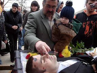 Înmormântarea lui Valeriu Boboc