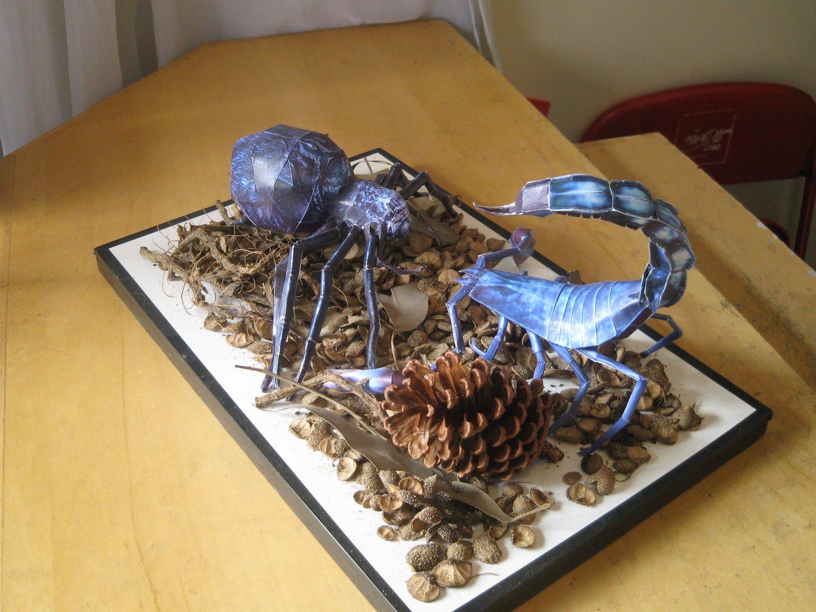 Escorpião e Aranha