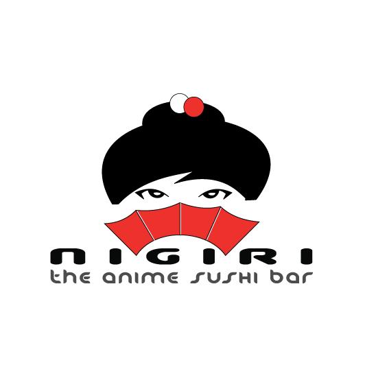 Logotipo Nigiri anime sushi bar