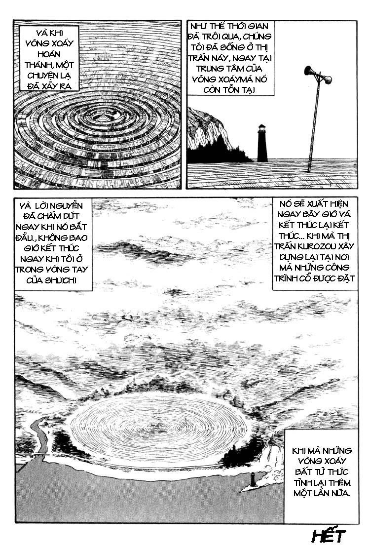 Uzumaki – Vòng Xoắn Ốc chap 19 – Kết thúc Trang 22 - Mangak.info