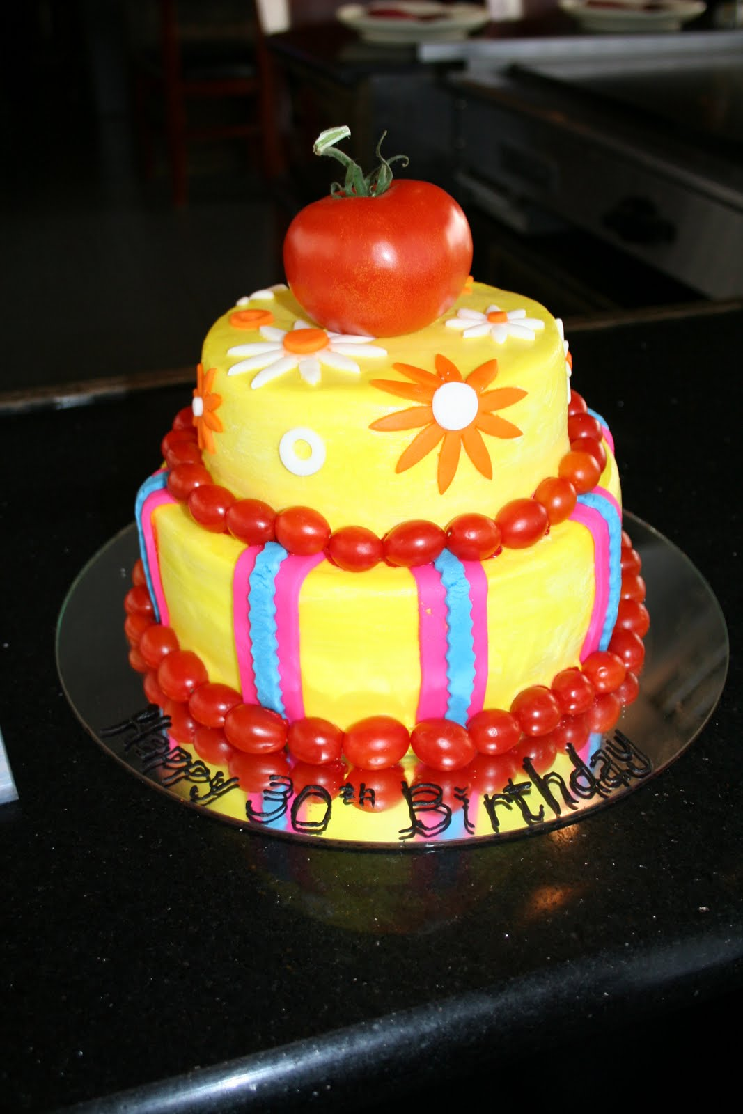 Love Eden Cake Happy 30th Birthday Charity