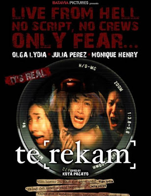Terekam the movie Starring Olga Lydia, Julia Perez, Monique Henry