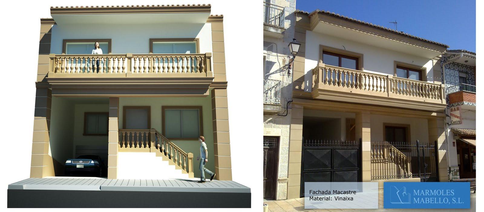 Pin fachada con molduras para arcos de madio punto on - Molduras para fachadas ...