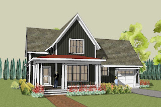 Farmhouse and Country Home Plans: Simple Country Homes and